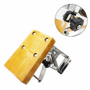 Heavy Duty Stainless Steel Outboard Motor Bracket Wood-color Exquisite