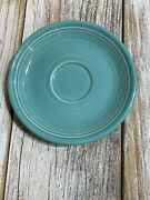 Retired-turquoise Fiesta Saucer 4 - Avail Same Year And Qrtr Production