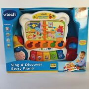 Vtech Toddler Sing Discover Story Piano Music Colors Play Interactive 12-36m