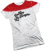 Suicide Squad Harley Quinn Daddyand039s Lil Monster Juniors T-shirt S-2xl Liquidation