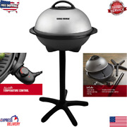 Electric Grill Indoor/outdoor George Foreman Ggr50b 12+ Servings Cooking Home Us