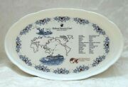 Holland America Line Ms Amsterdam 2017 Grand Pacific And Far East Voyage Plate
