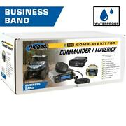Rugged Radios Can-am Commander Complete Utv Communication Kit W/ H42bth Headsets