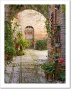 Stone Arch Decorated Art Print / Canvas Print. Poster Wall Art Home Decor - G