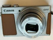 Canon Powershot G9 X Mark Ii 20.1mp Digital Camera -not Working And For Parts Only