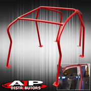 For Mk4 Mark 4 Golf Gti 6 Point Roll Cage Racing High Performance Track Red