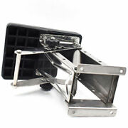 Black Heavy Duty Stainless Steel Outboard Motor Bracket Up To 25hp Well-suited