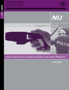 Justice U S Department Of-police Use Of Force Tasers And O Book New
