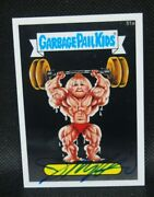 Garbage Pail Kids Chrome 2 John Pound Auto Autograph Signed 51a Russell Muscle