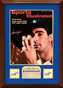 Sandy Koufax Signed 1963 Sports Illustrated 16x20 Cover Photo, Le Of 63. Steiner