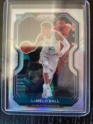 2020-21 Panini Silver Prizm Lamelo Ball Charlotte Hornets Sp Rc