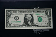 1 2013 Independence Year Spirit Of 1776 Serial F 5973 1776 B Unc Cu