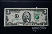 2 2009 Independence Year Spirit Of 1776 Serial L 0141 1776 A Unc Cu