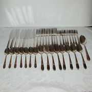 Vintage Silverplate Cutlery Set Mary Lou Devonshire 1938 Wm Rogers Intl. Silver