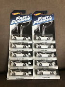 2017 Hot Wheels Fast And Furious Toyota Supra Lot Of 10 Mint On Card