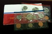 1987 P And D Uncirculated United States Us Mint Coin Set