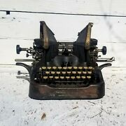 Antique 1913 The Oliver No. 9 Pre Wwi Era Industrial Age Relic See Video
