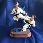 Black Belts Of Honor Limited Edition Martial Arts Statue Full Contact Rare