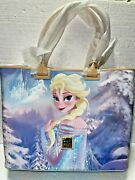 Disney Dooney And Bourke Tote Bag - Elsa And Anna Of Frozen