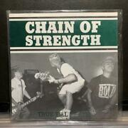 Vintage Rare Chain of Strength True Till Death 3rd Record Music