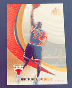 Michael Jordan 2005/06 Upper Deck Sp Game Used Edition Gold Numbered 4/100 💎