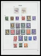 Lot 33413 Stamp Collection Italy 1945-2000.