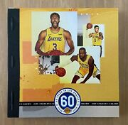 2019-2020 Nba Champions Los Angeles Lakers Two 2 Ticket Book - Lebron James