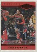 2018-19 Panini Chronicles Plates And Red /149 Troy Brown Jr 396 Rookie Patch