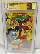 Amazing Spider-man 362 Cgc 9.8 2x Signed By Stan Lee And T Mcfarlane Newsstand