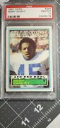 1983 Topps Football Kenny Easley Rookie 384 Psa 10 Mint Hall Of Famer