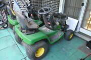 3 John Deere Riding Mowers For Parts Or Repair 2 Lx188 And A Lx178