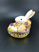 Easter Bunny Shaped Trinket Box By Villeroy And Boch 1748