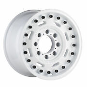 18 Inch 5x5 4 Wheels Rims Black Rhino Axle 18x9.5 -18mm White
