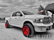 Painted Fender Flares For 09-18 Dodge Ram 1500 Oe Style Color Match Set