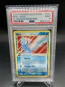 Mew 💫 Gold Star 101/101 Ex Dragon Frontiers Psa 9