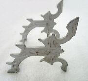 Antique Pen Stand 1880 Iron In Grey Color For 6 Pens A249