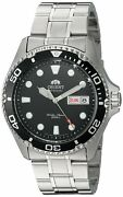 Orient Men's 'ray Ii' Japanese Automatic Stainless Steel Diving Watch Faa02004b9