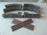 Lionel And K-line 0-27 Gauge Track W/brown Ties Curved And Straight