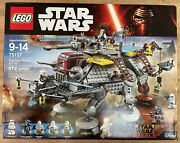 Lego Star Wars 75157 Captain Rexand039s At-te New Sealed 5 Minifigures Captain Rex
