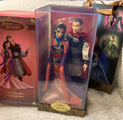 Mulan And Li Shang Disney Fairytale Limited Edition Doll With Bag