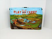 Vtg Guage Play And039nand039 Carry Train Layout Atlas Tracks Fits N-scale Ideal Toy Corp