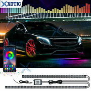 Rgb Led Under Glow Light Flash Music Timing Phone Control For Mercedes Audi Vw