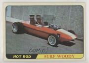 1968 Topps Milton Bradley Hot Rods And Custom Cars Win-a-card Game Surf Woody 0a3