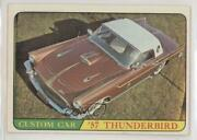 1968 Topps Milton Bradley Hot Rods And Custom Cars Win-a-card Game T Bird 20 0a3