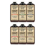 Leather Milk Complete Leather Care Kit. Leather Conditioner, Cleaner And Set. 6