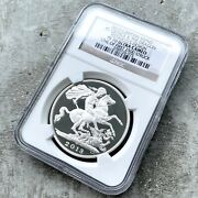 Great Britain 2013 Silver Proof £5 Pound St. George Dragon Ngc Pf 70 Ultra Cameo