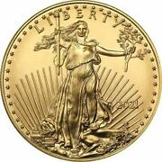 2021 United States American Gold Eagle 1 Oz Coin
