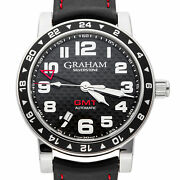 Graham Silverstone Automatic Mens Steel 42mm Strap Watch2tzas.b02a