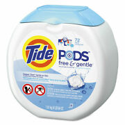Tide Free Andamp Gentle Laundry Detergent Pods 72/pack 4 Packs/carton