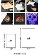 Uninet Premium 2 Step Transfer And Adhesive Media Kit For Light And Dark Textiles